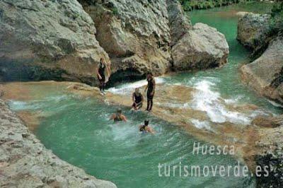TURISMO VERDE HUESCA. Sierra de Guara